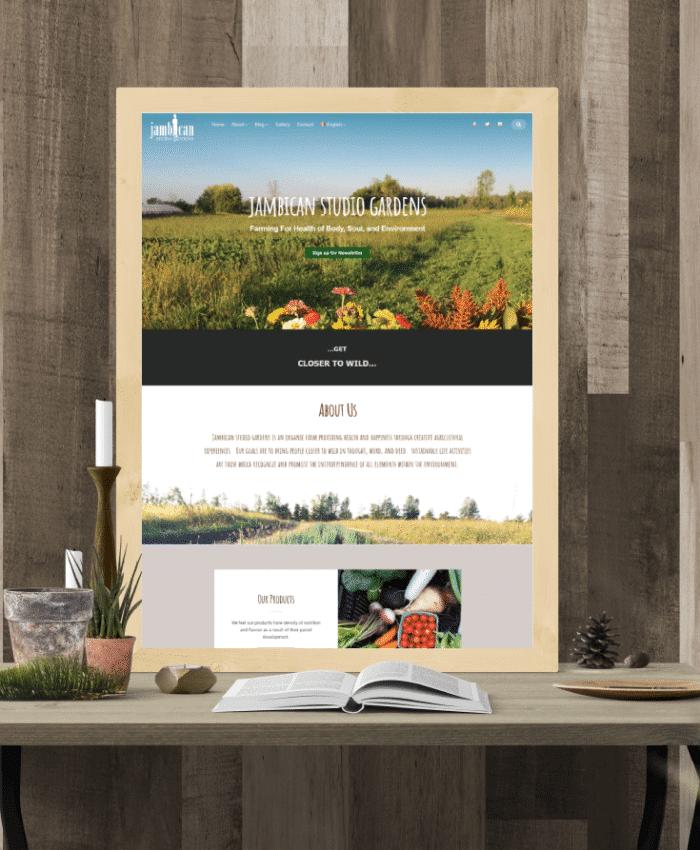 Jambican Studio Garden – 有機農場